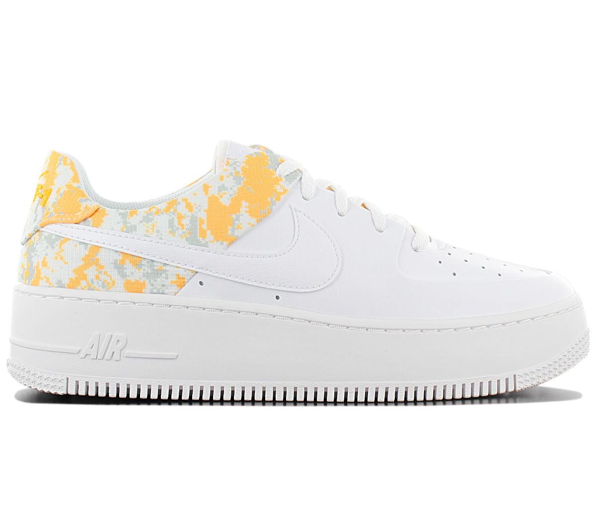 Details about Nike Air Force 1 Sage Lo Premium Sneaker CI2673 100 Leather White Fashion Shoes