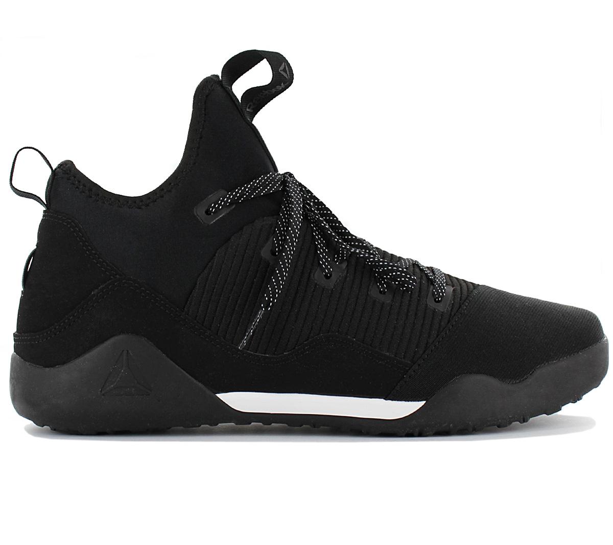 Details about Reebok Combat Noble Trainer Men's Training Fitness Shoes CN0742 Black Workout