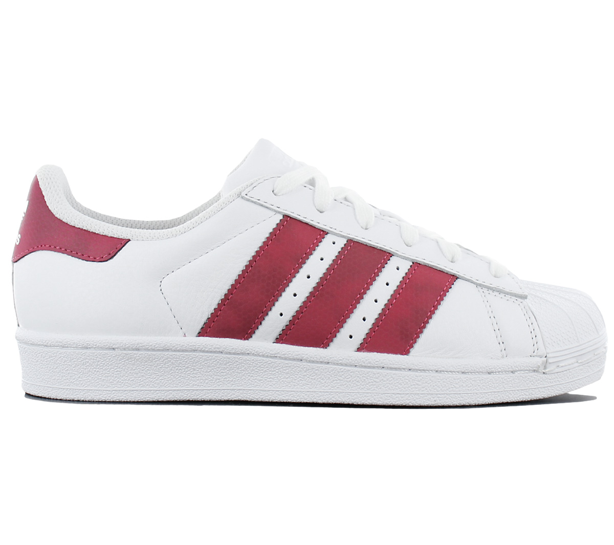 huge selection of e5896 27326 Adidas Superstar 2 Sneaker Women's Leather White Sneakers Leisure ...