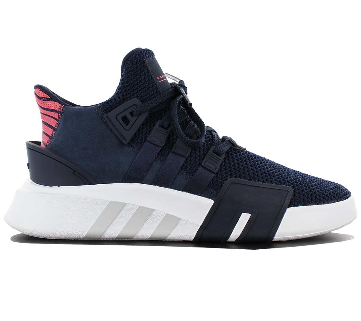 official photos dff26 0e218 Adidas Equipment Bask Adv Mens Shoes Navy Blue Sneaker Eqt C