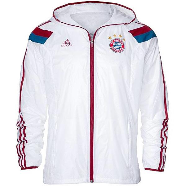 FC Bayern München Anthem Jacke Hymne Adidas Trainingsjacke