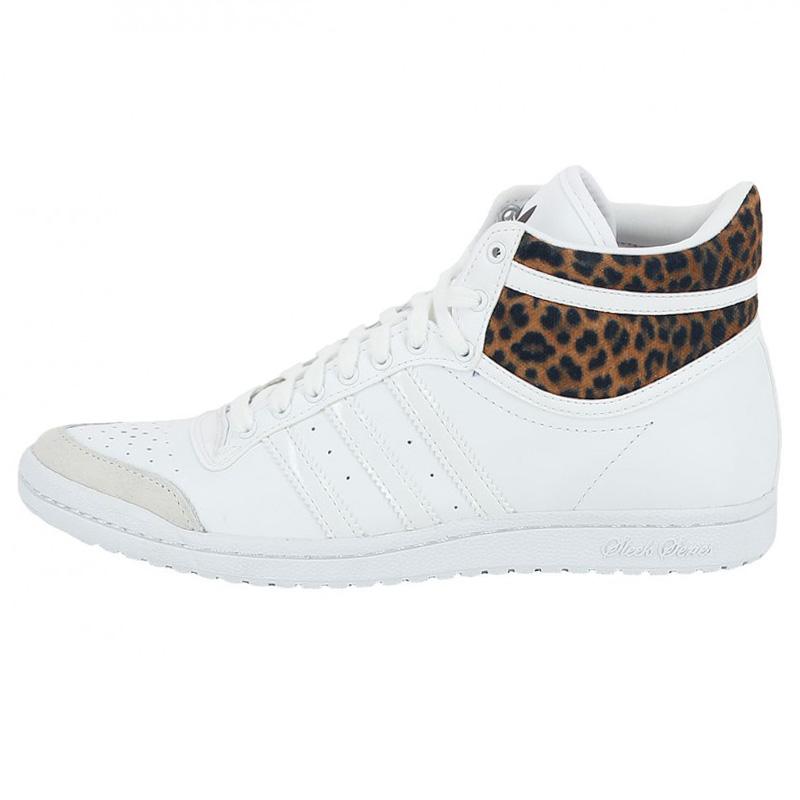adidas top ten hi sleek w ladies leather sneaker shoes. Black Bedroom Furniture Sets. Home Design Ideas