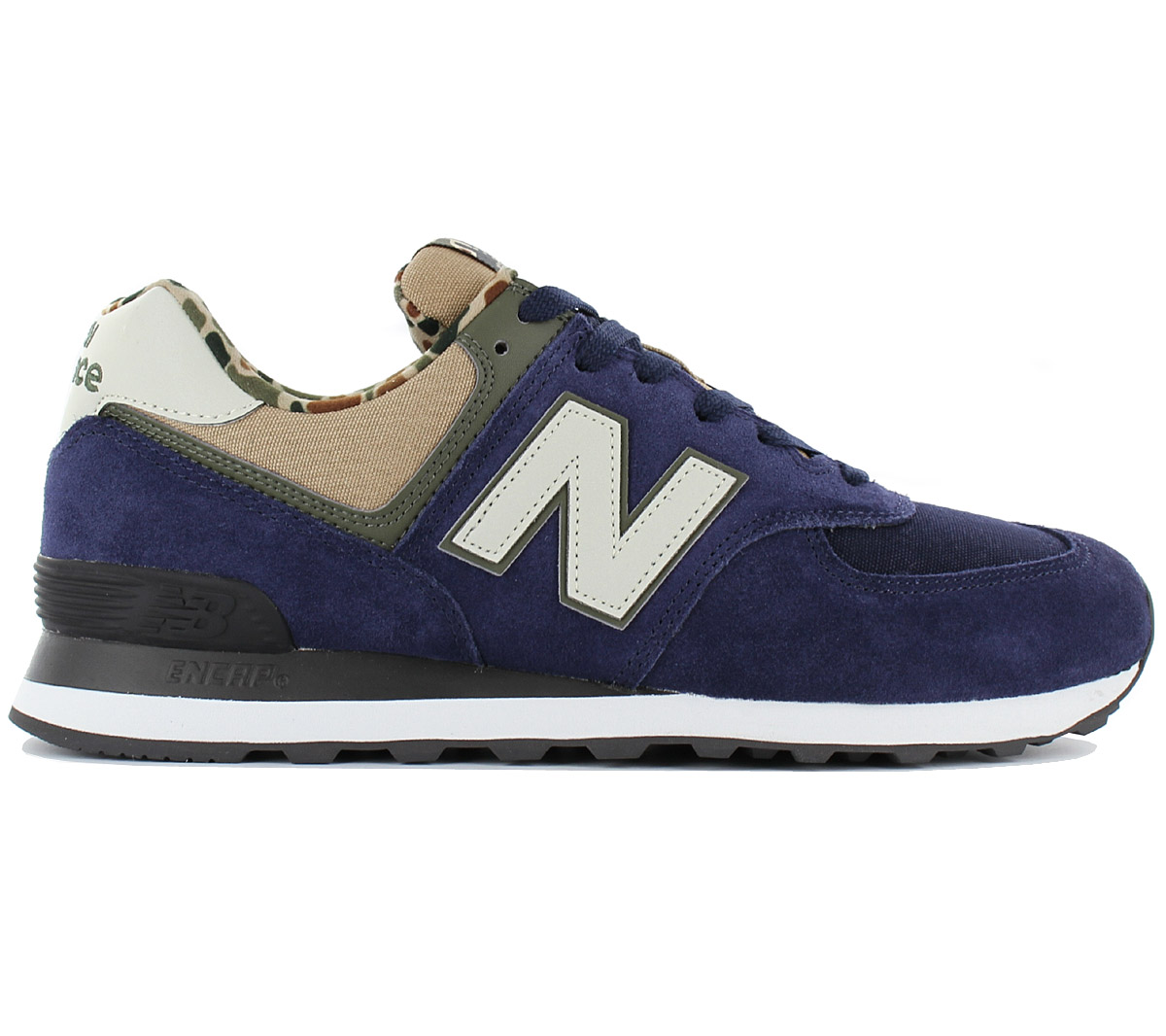 release date: 0b573 3a7fa Details about New Balance Classic 574 Men's Sneaker Shoes Navy Blue  ML574HVA ML574