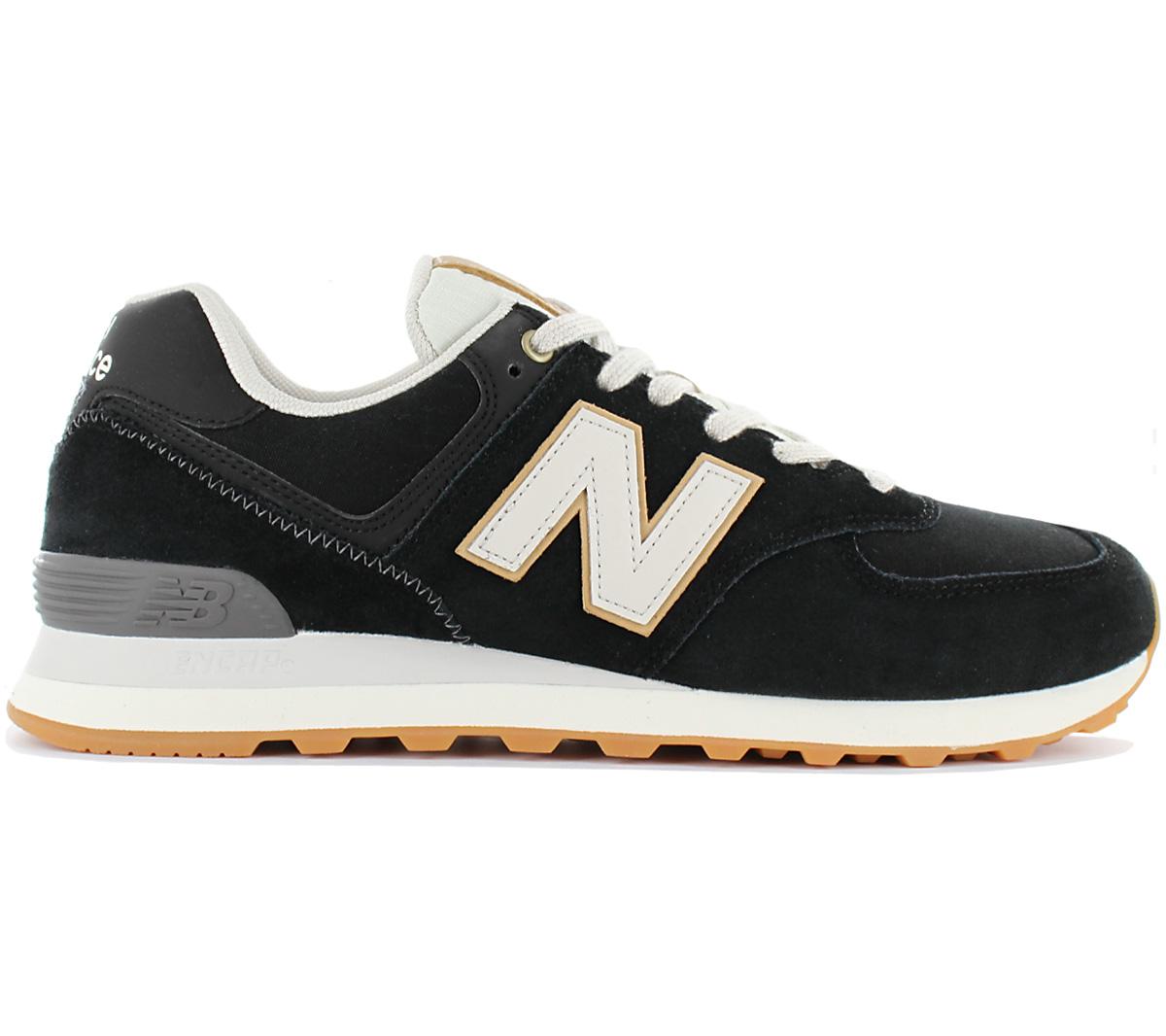 Detalles acerca de Classics 574 para hombre New Balance Zapatillas Zapatos Zapatillas Negro ML574OUA Nuevo mostrar título original