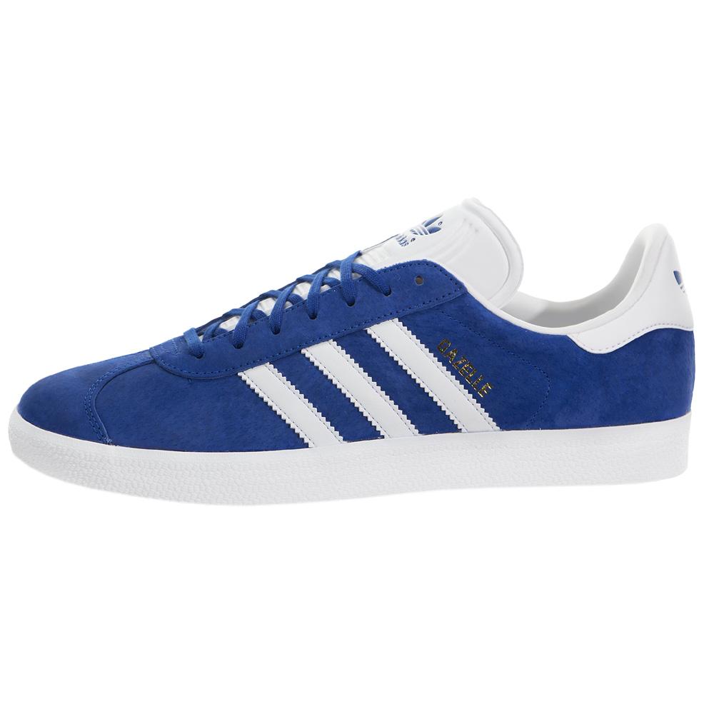 low priced dcf61 504e8 Adidas Originals Gazelle 2 Sneaker Blue Mens Womens Shoes Re