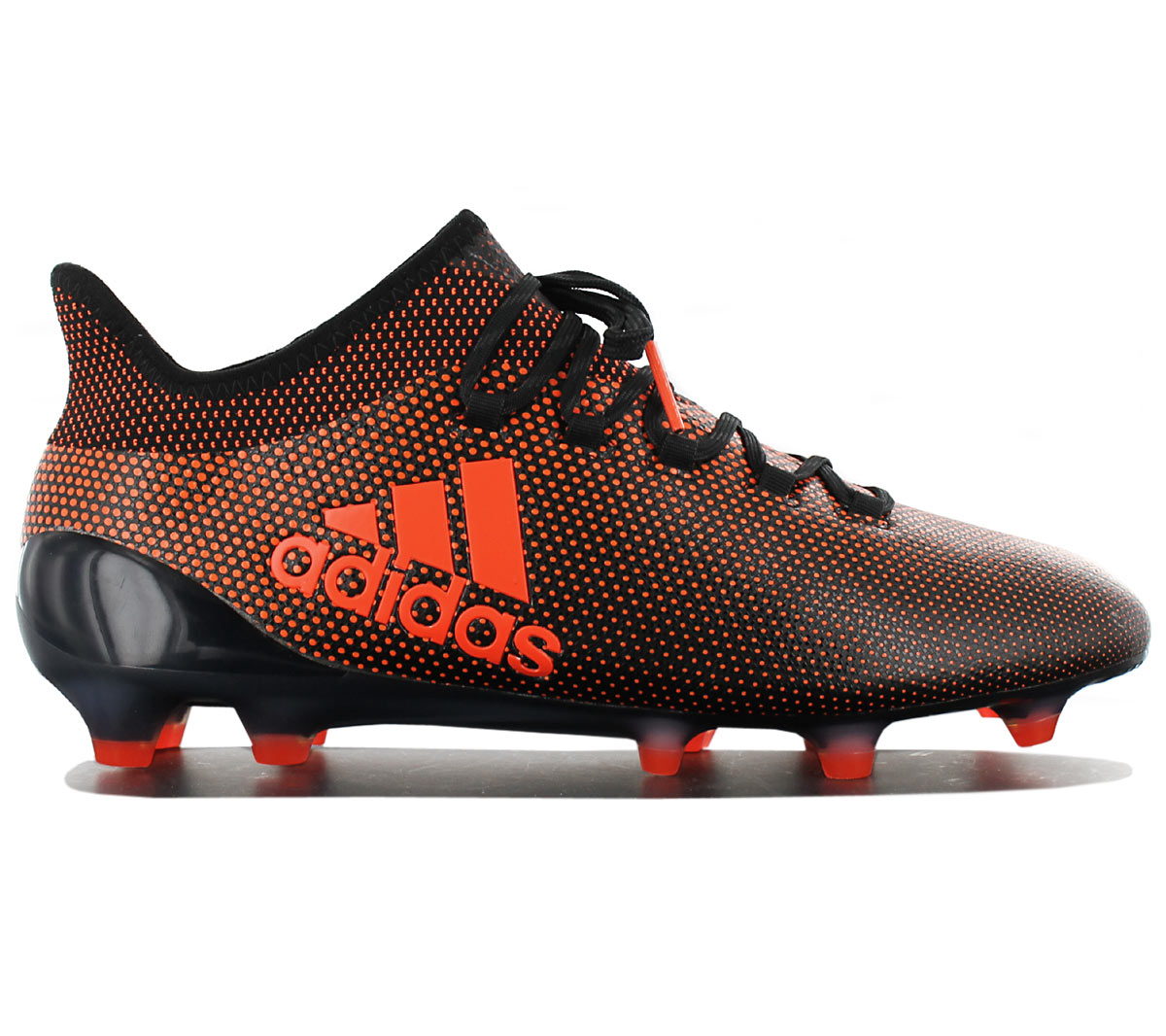 detailed look 8c56a 33039 Details about Adidas x 17.1 Fg Men's Cleats Football Shoes Black Orange Ace  S82288 New