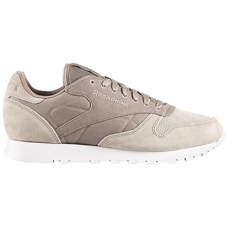 c396d9bc21572 Reebok Classic Leather Men Classics Sneaker Beige Men s Leather ...