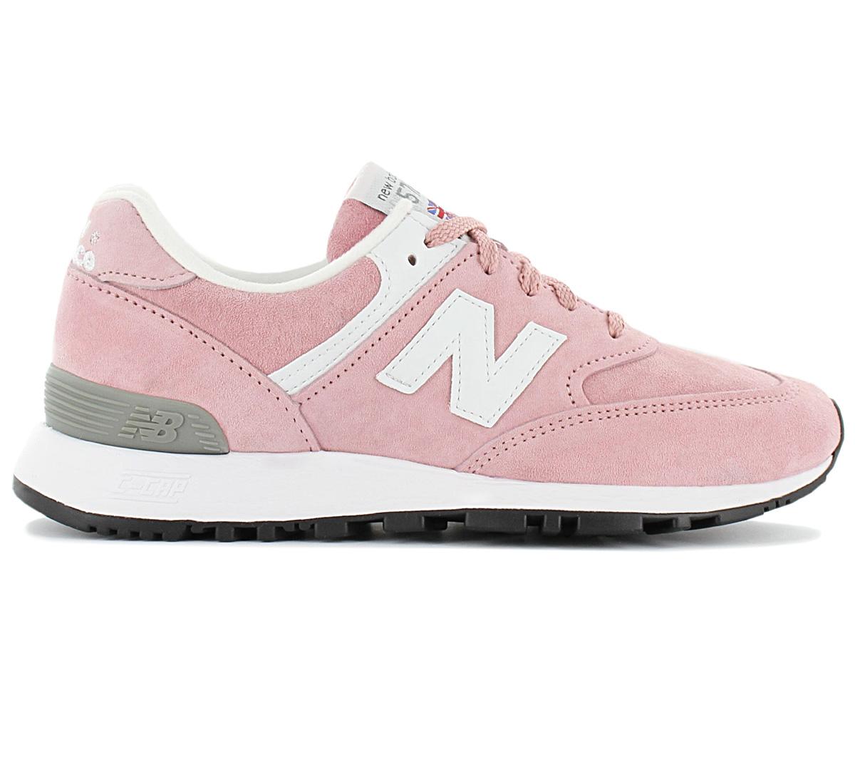 Details zu New Balance 576 - Made in England - W576PNK Damen Sneaker Leder  Schuhe Freizeit