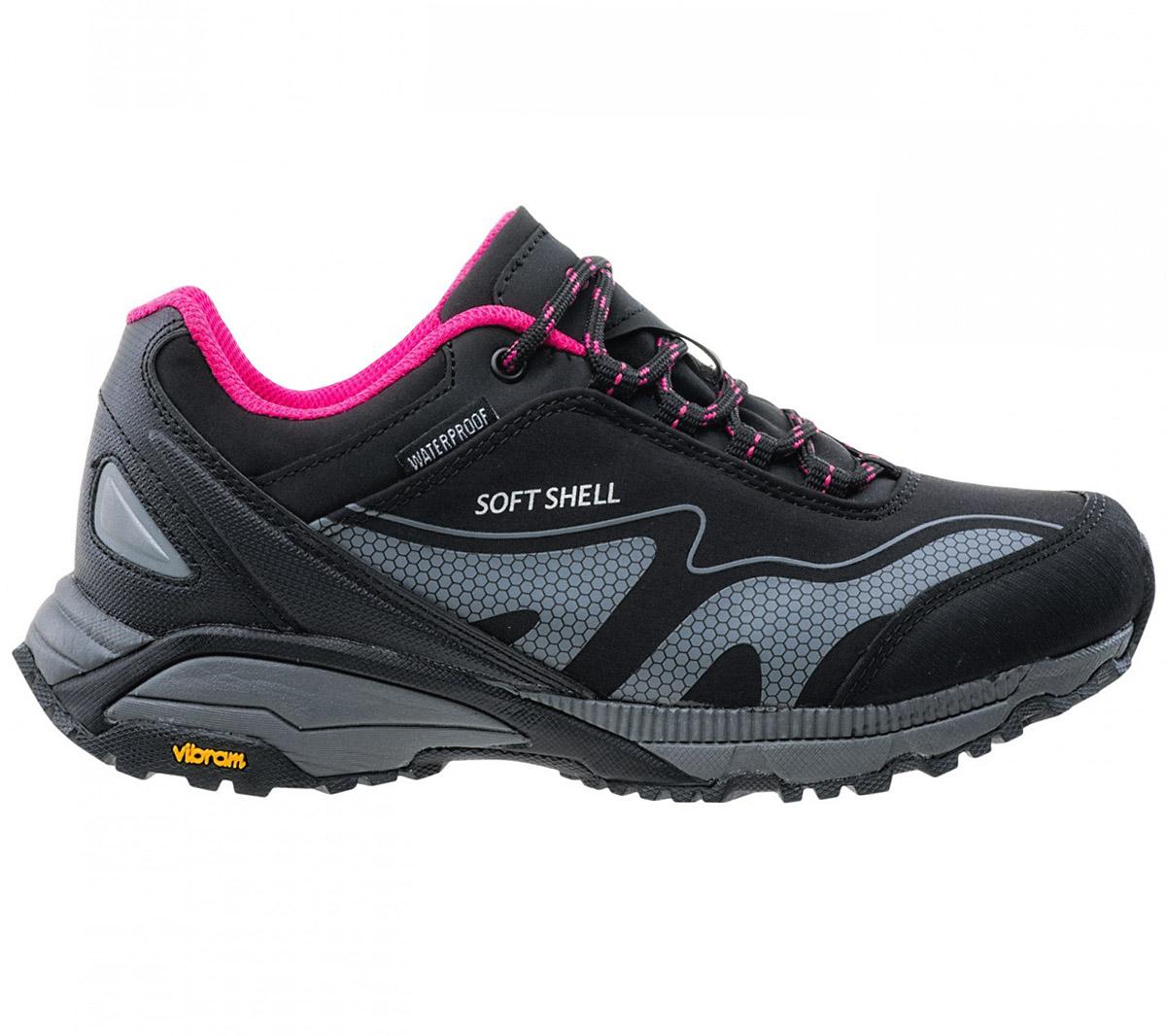 wiele stylów zamówienie 100% najwyższej jakości Details about Hi-Tec Kangri Low Wp Softshell Vibram Shoes Women's Hiking  Outdoor Mountain