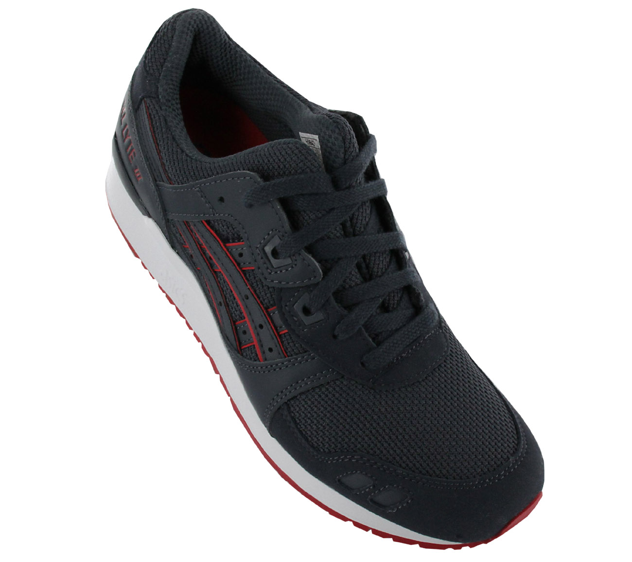 the latest 53a41 34838 Asics Gel-Lyte III 3 Shoes Men s Sneakers Navy Blue Gym Shoe New ...