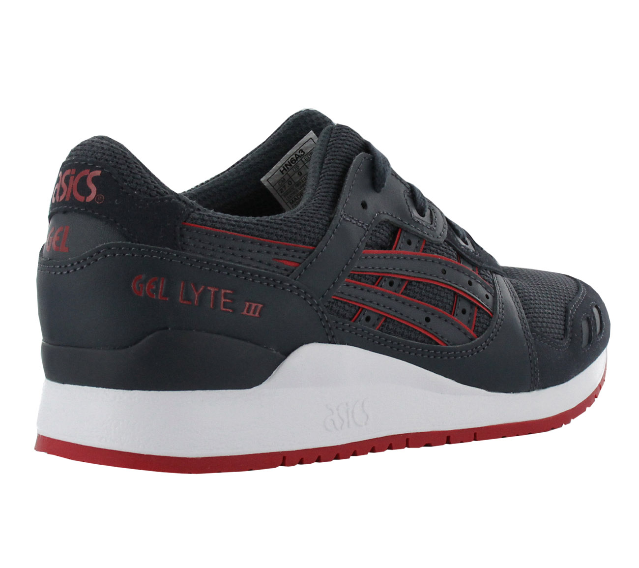 the latest bdfe1 bc492 Asics Gel-Lyte III 3 Shoes Men s Sneakers Navy Blue Gym Shoe New ...