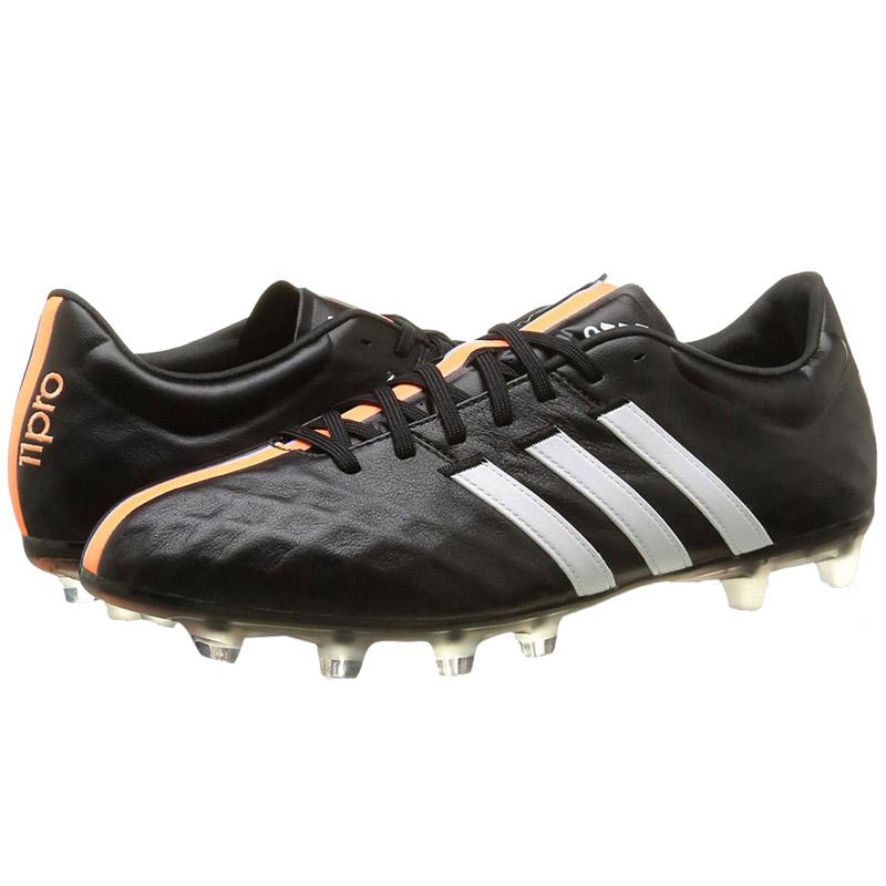 adidas 11 pro fg leather men 39 s football shoes black new. Black Bedroom Furniture Sets. Home Design Ideas