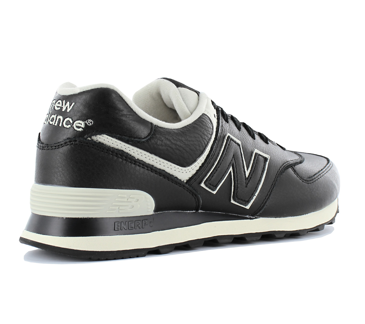 new balance classic 574 leder herren sneaker schuhe. Black Bedroom Furniture Sets. Home Design Ideas