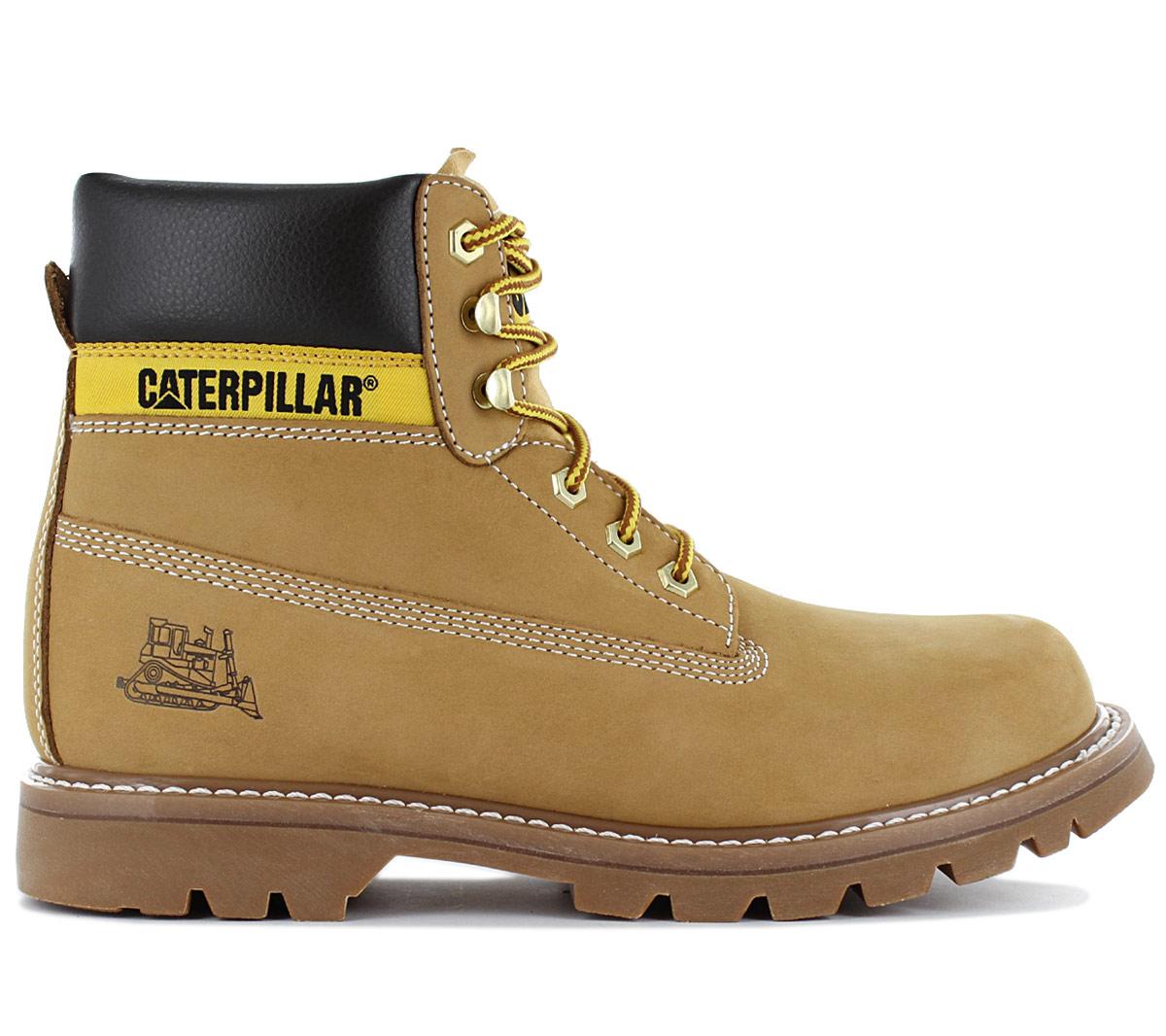 Details about Cat caterpillar Colorado Men's Boots PWC44100 940 Leather Honey Boots Shoes