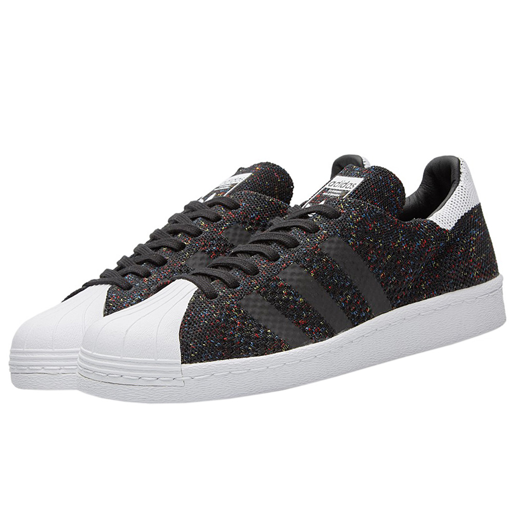 NEU adidas Superstar 80s PK Primeknit S75844 caballeros Zapatos  Negro S75844 Primeknit SALE 43719f