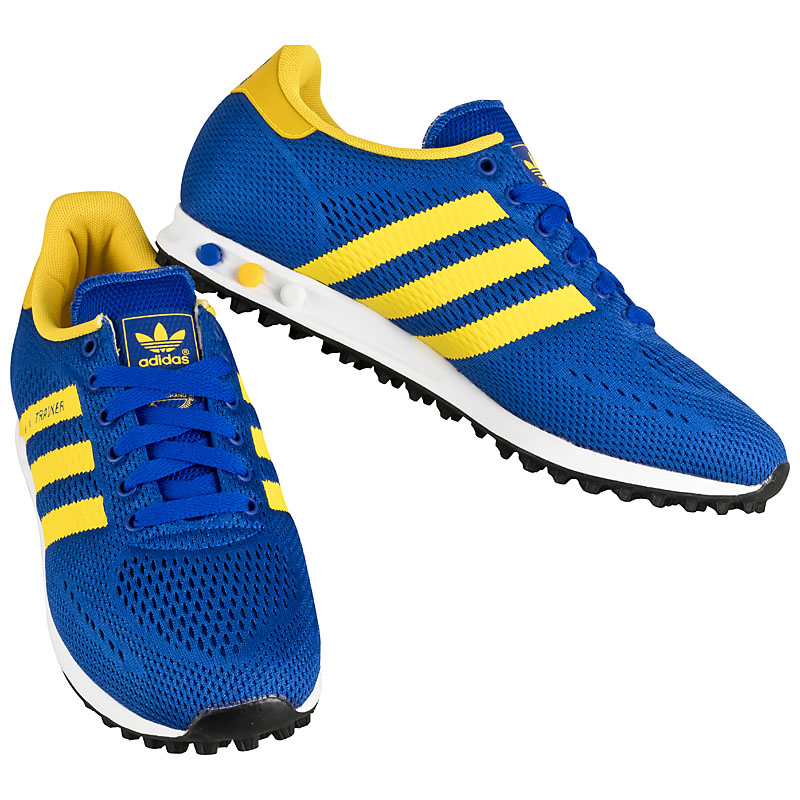 adidas originals la trainer em blue men 39 s trainers shoes. Black Bedroom Furniture Sets. Home Design Ideas