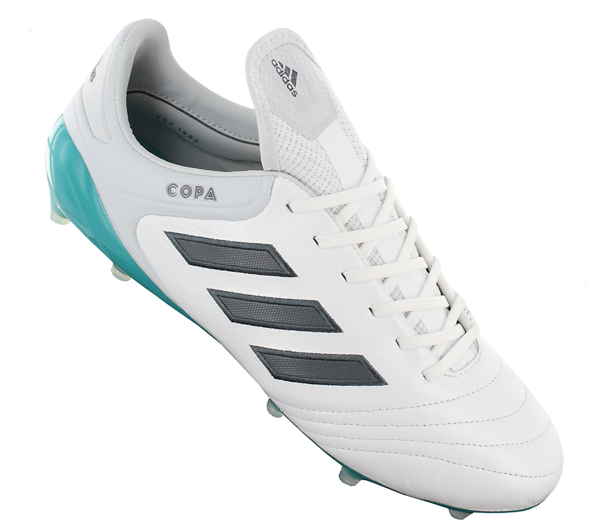Adidas Copa 17.1 Fg Men s Football Boots Leather White Studs Mundial ... 625cc1d98c4ca