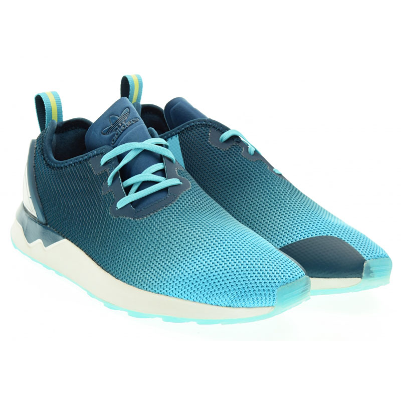 NEU adidas ZX Flux ADV Asym Herren Schuhe Blau S79056 SALE