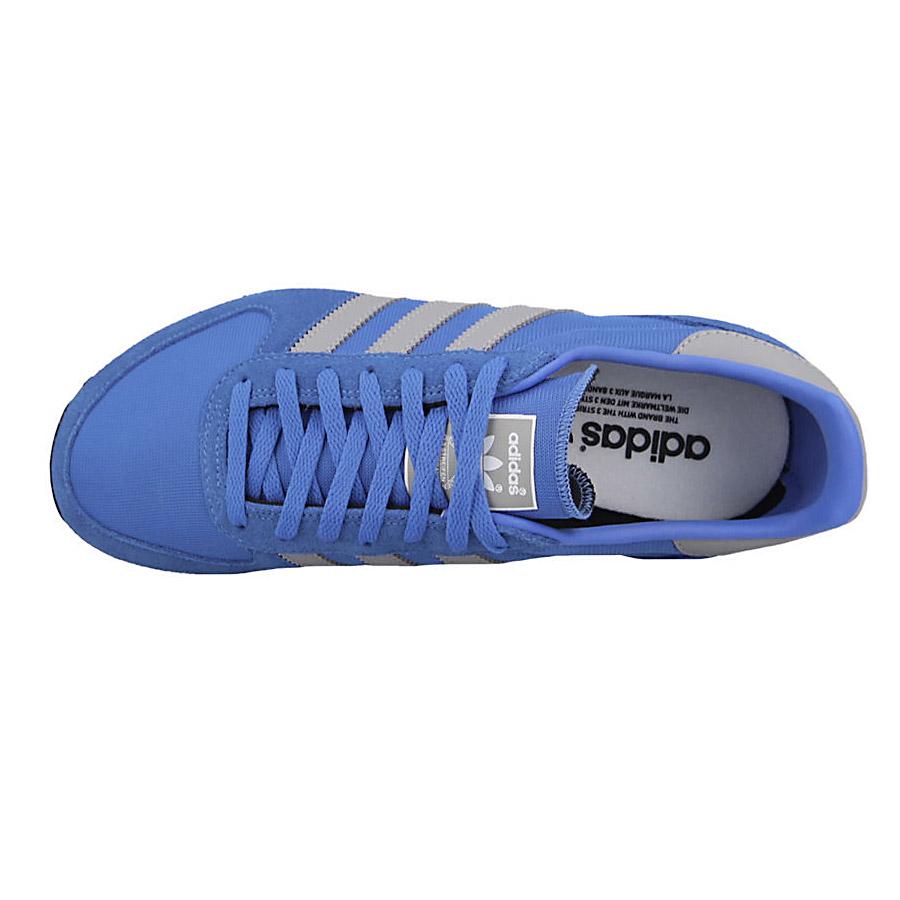 Adidas Originals Zx Racer M Sneaker Blue Mens Shoes Gym Shoe New Black Close Zoom View
