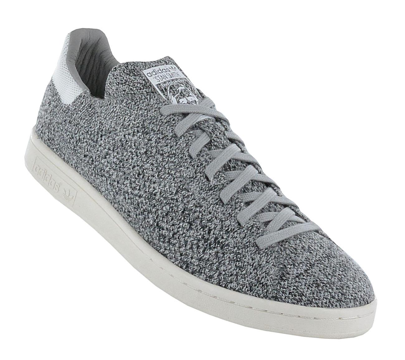 adidas originals stan smith pk primeknit sneaker grau. Black Bedroom Furniture Sets. Home Design Ideas