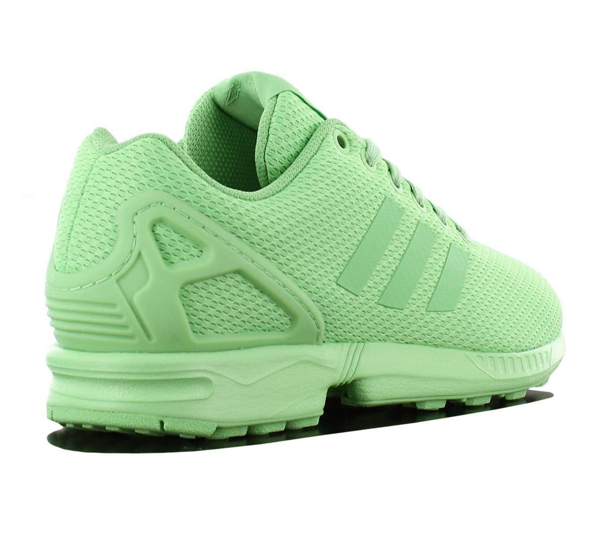 1c7b150208c4 Adidas Originals Zx Flux W Ladies Sneaker Shoes Green Textile ...