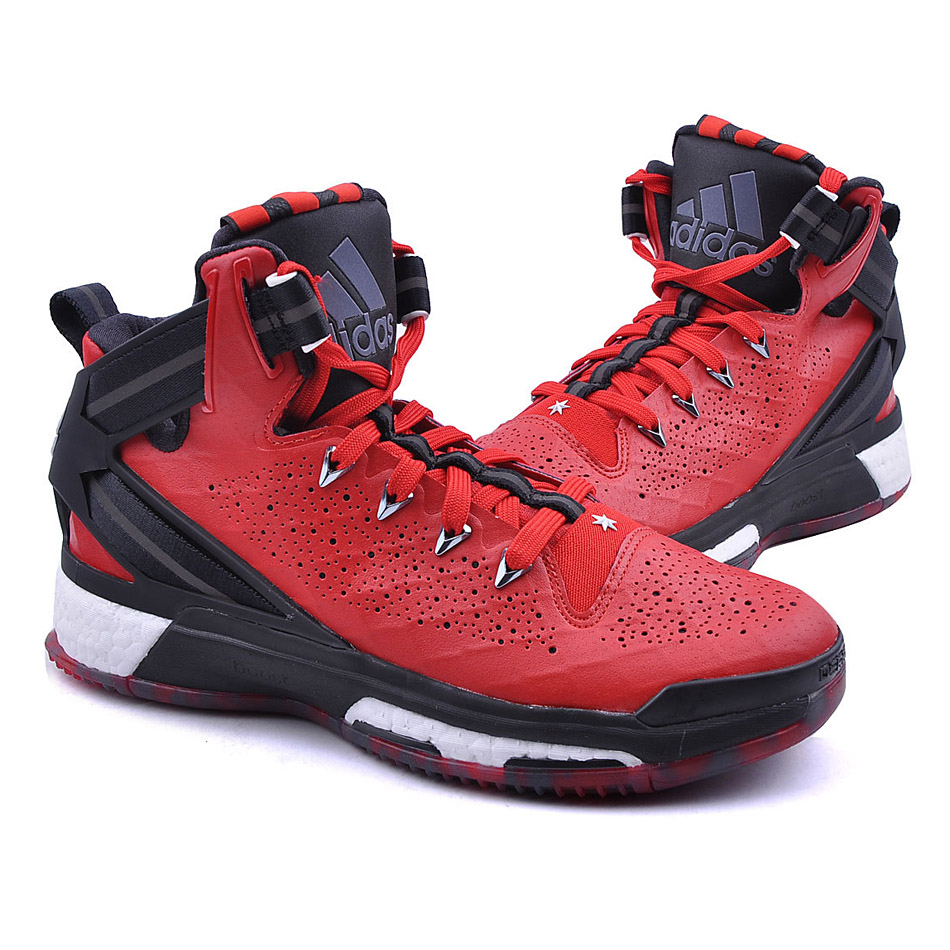 derrick rose shoes red - photo #7