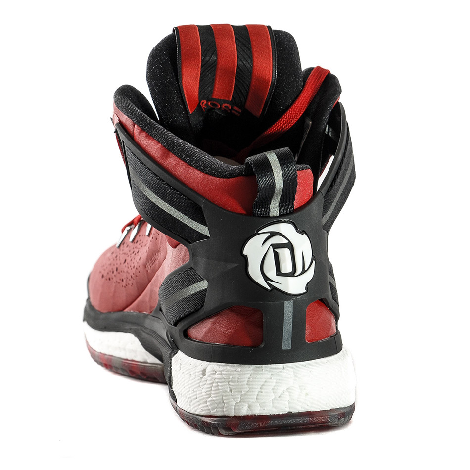 derrick rose shoes red - photo #8