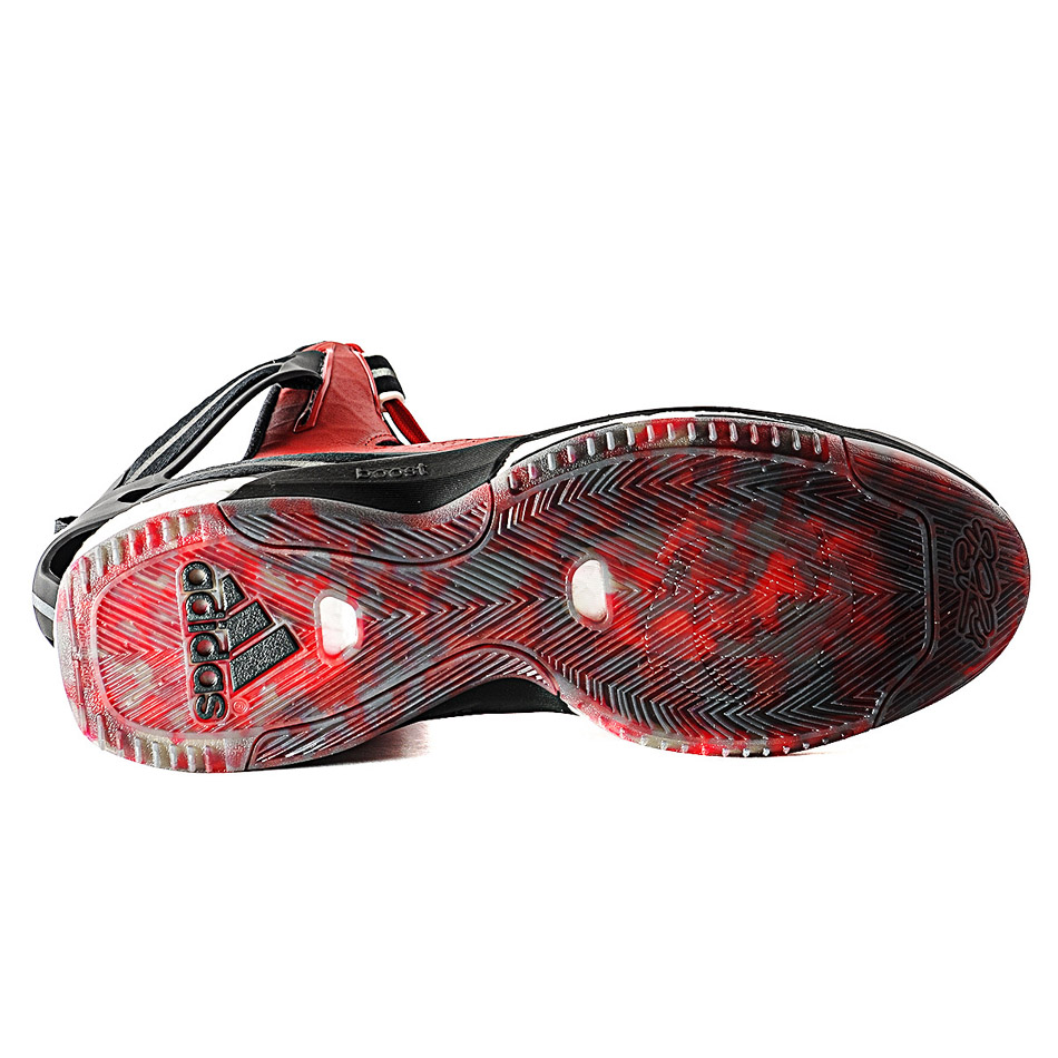 derrick rose shoes red - photo #20