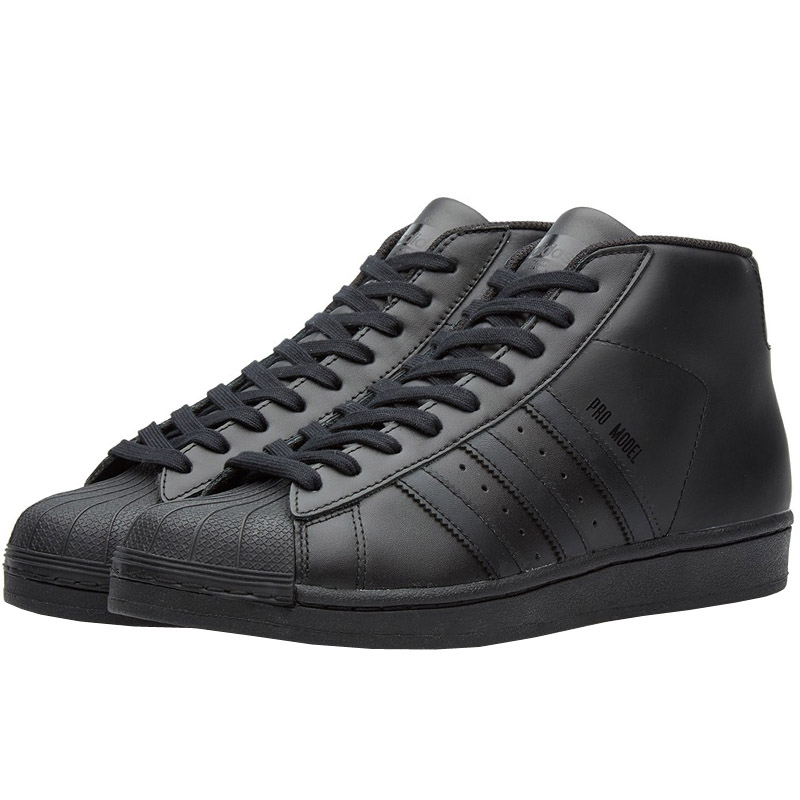 NEU adidas Pro Negro Model caballeros Zapatos  Negro Pro S85957 SALE 653be2