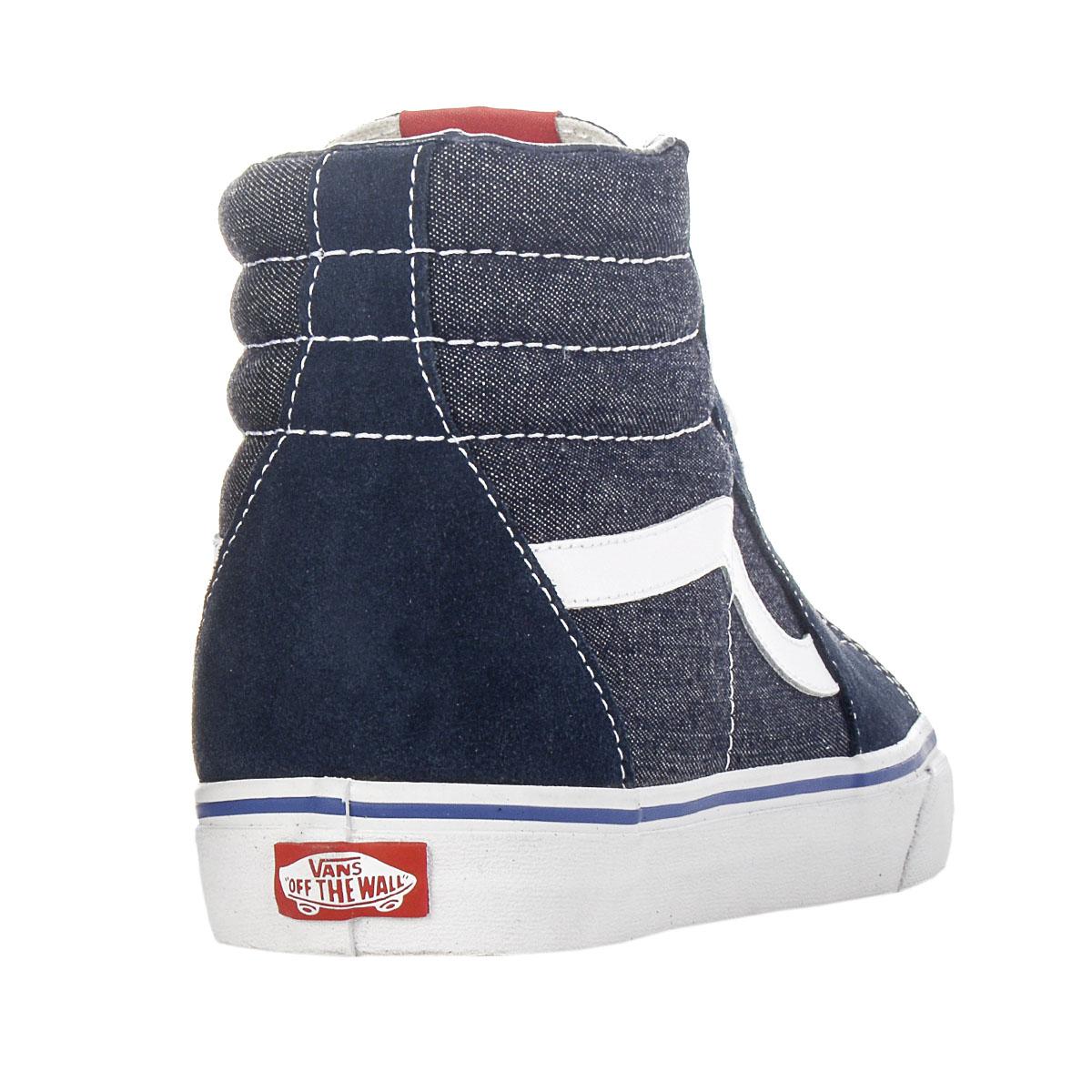 NEU Vans Schuhe SK8 HI Herren Schuhe Vans Navy-Blau VN0KYA7QW SALE 503ed1