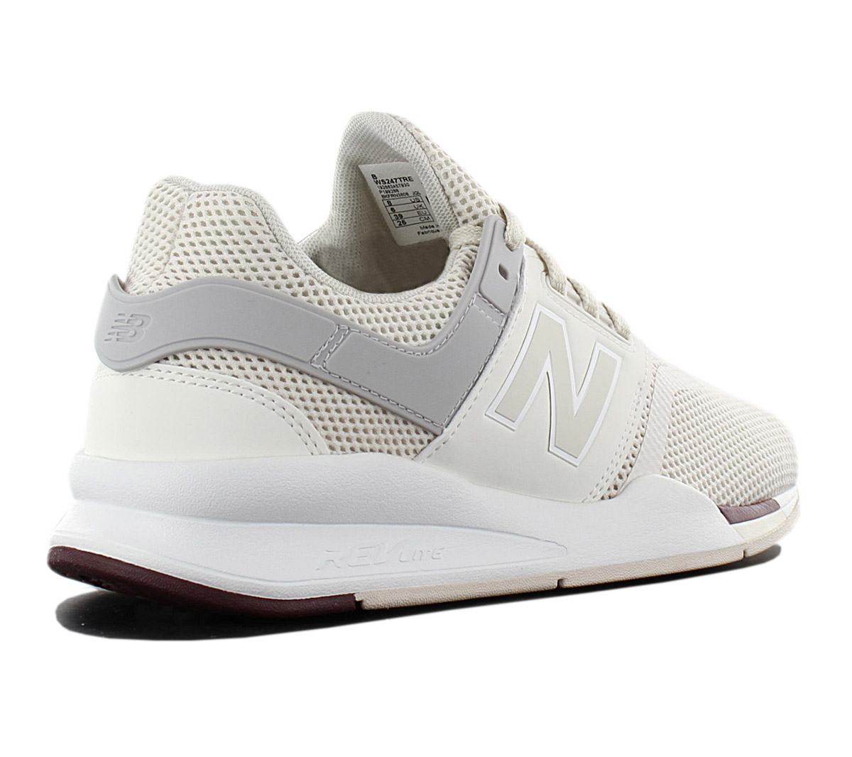Details about New balance 247 WS247TRE Women's Sneaker Beige Shoes Sneakers  Sports Shoes New