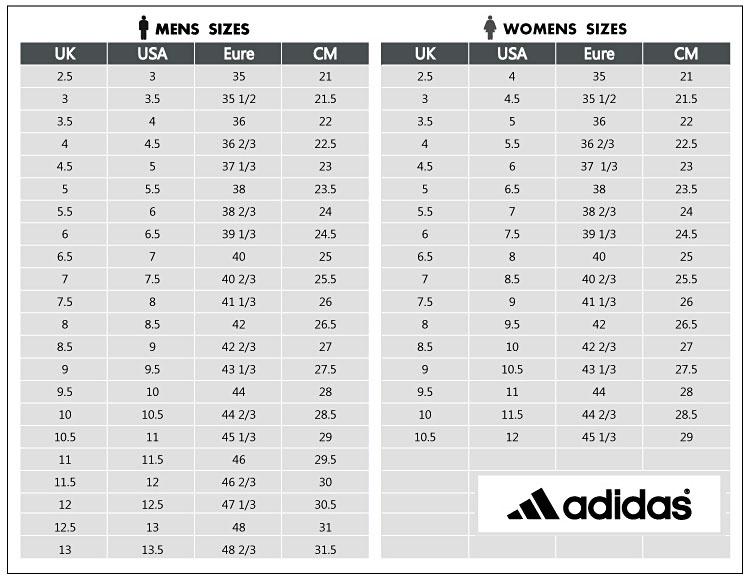 adidas adilette slides size chart Shop